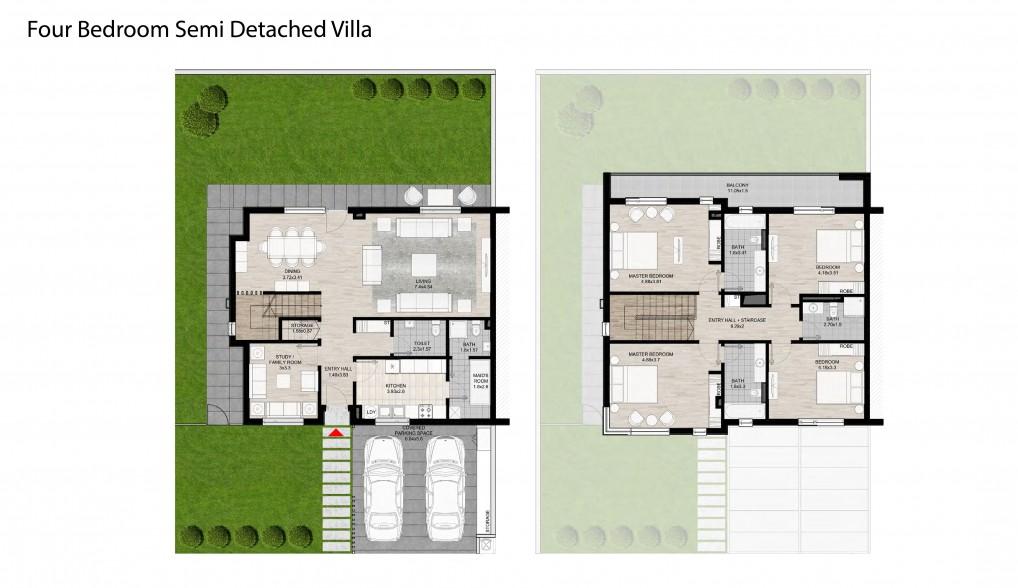 Four-Bedroom-Semi-Detached-Villa