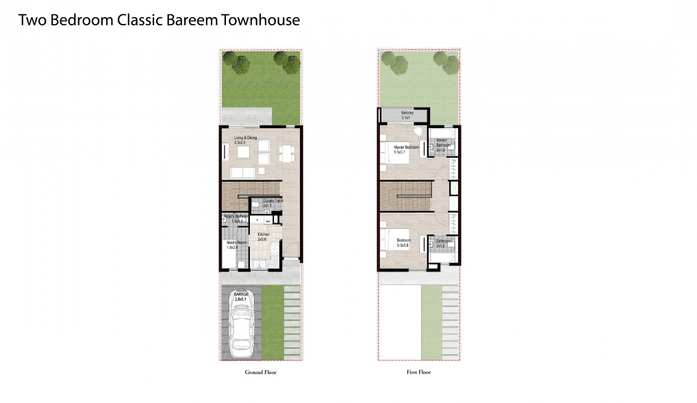 Two-Bedroom-Classic-Bareem-Townhouse